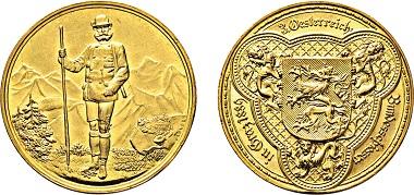 Los 3248: Graz. 4 Dukaten 1889 auf das III. Österreichische Bundesschießen. Taxe: 2.500 Euro.