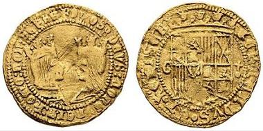 Lot 2001: Granada. Excelente, 1497. Nearly very fine+. Starting price: 900 euros.