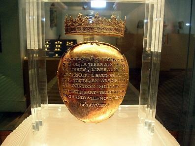 Das Herz der Anne de Bretagne. Foto: Jibi44, März 2006 / Wikipedia cc-by 3.0.