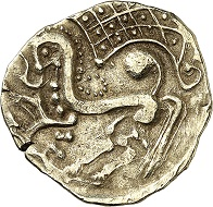No. 1. Celts. Parisii. Gold stater. Very rare. Very fine to extremely fine. Estimate: 9,000 euros.