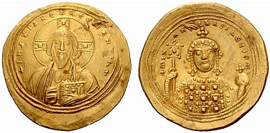 Michael IV, the Paphlagonian, 1034-1041. Histamenon. From Auction NAC 33 (2006), 679.
