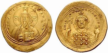 Michael IV., der Paphlagonier, 1034-1041. Histamenon. Aus Auktion NAC 33 (2006), 679.