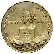 Erasmus von Rotterdam. Medaille von Quentin Massys (um 1465/6-1530), 1519. Unbearbeitete Originalmedaille aus dem Besitz des Erasmus von Rotterdam. HMB Inv. 1916.288. Foto: HMB Alwin Seiler.