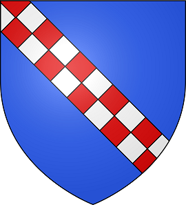Coat of Arms of the Hauteville family. Source: S@m / CC BY-SA 3.0