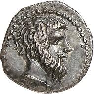 Nr. 137: Abakainon (Sizilien). Litra, 420-410. Aus Sammlung eines Geschichtsfreundes. Sehr selten. Vorzüglich. Taxe: 200,- Euro. Zuschlag: 1.500,- Euro.