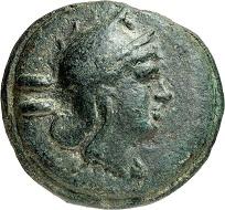 No. 835: Roman Republic. Dupondius, 265-242, Rome. From Eberhard Link collection. Very rare. Very fine. Estimate: 7,500 euros. Hammer price: 26,000 euros.