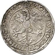 Nr. 3527: Dortmund. Reichstaler 1564. Aus Auktion Schulman 225 (1955), Nr. 1598. Äußerst selten. Sehr schön. Taxe: 50.000,- Euro. Zuschlag: 65.000,- Euro.