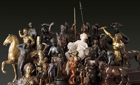 Exponate der neuen Dauerausstellung des Historischen Museums Basel. Foto: HMB Peter Portner.