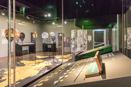 Impression from the exhibition of the Money Museum of the Deutsche Bundesbank. Photo: Nils Thies.
