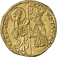 A Venetian Ducat from the Bundesbank collection. Photo: Deutsche Bundesbank, Numismatische Sammlung