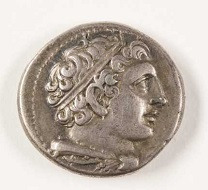 One of the 1,250 Roman Republican coins digitized from the Badian Collection. Photo: Nick Romanenko, Rutgers University.