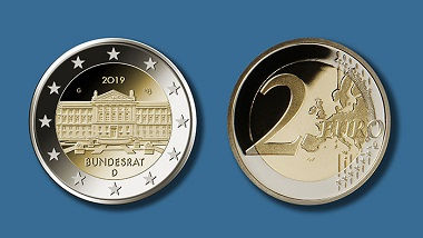 Deutschland / 2018 / 2 Euro / Design: Michael Otto. Foto: BVA, Fotograf: Hans-Joachim Wuthenow.