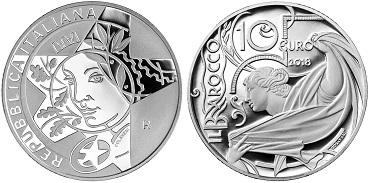 Italy / 10 Euro / silver .925 / 22g / 34mm / Design: Maria Carmela Colaneri / Mintage: 4,500.