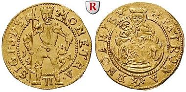Ungarn. Siebenbürgen. Sigismund Bathory. Dukat 1594. ss+. 2.100 Euro.