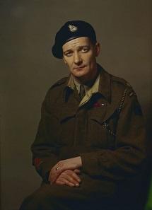 Lieutenant Colonel David Vivian Currie. Photo: Dix Noonan Webb.