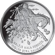 Latvia / silver .925 / 31.47g / 38.61mm / Mintage: 4,000.