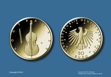 Und so sieht die neue Sammlermünze aus. © BVA.