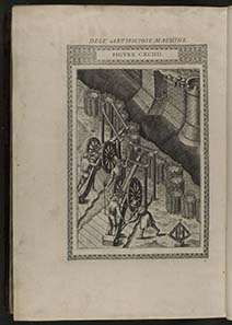 Aus: Le diverse et artificiose machine del capitano Agostino Ramelli, 1588. Quelle: Library of Congress / Wikipedia.