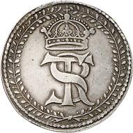 No. 1186: Poland. Sigismund III, 1587-1632. Reichstaler 1627, Bromberg. Very rare. Very fine. Estimate: 35,000 euros.