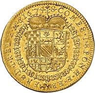 No. 6425: Baden-Baden. Wilhelm, 1622-1677. Ducat 1674, Baden-Baden. Extremely rare. Extremely fine. Estimate: 30,000 euros.