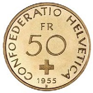 The 50-francs-coin
