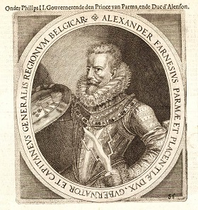 Alessandro Farnese, duke of Parma and governor of the Netherlands, 1578-1592