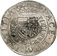 Brabant. Statendaalder 1578, Maastricht. Extremely rare. Very fine to extremely fine. Estimate: 2,500,- euros. From Künker 207 (June 18, 2018), no. 240.