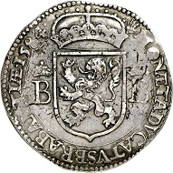 Republic of Brabant. ROBUSTUS daalder 1584, Antwerp. Extremely rare. Nearly extremely fine. Estimate: 10,000,- euros. From Künker 207 (June 18, 2018), no. 247.