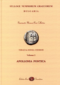 Dimitar Draganov, SNG Bulgaria. Numismatic Museum Ruse Collection. Thrace & Moesia Inferior. Volume 2: Apollonia Pontica. Bobokov Bros. Foundation, Sofia 2017. 125 p., color illustrations throughout. 21 x 30 cm. Hardcover. ISBN 978-954-9460-06-3. 80 euros.