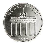 Die neue Gedenkprägung in Silber der Münze Berlin erinnert an die Übergabe der Kongresshalle vor 60 Jahren.