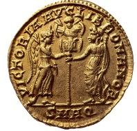 Magnentius. Solidus, Aquileia. Photo: National Museum Warsaw.