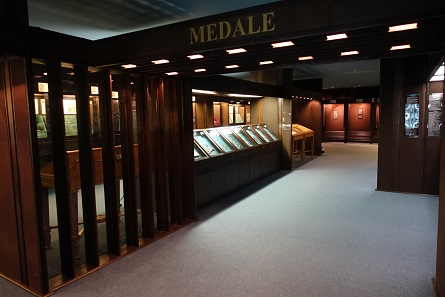 A glance at the numismatic collection, which is only open by prior appointment. Photo: UK.
