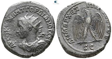 Gordian III, 238-244. Billon-Tetradrachm, Antioch. Good very fine.