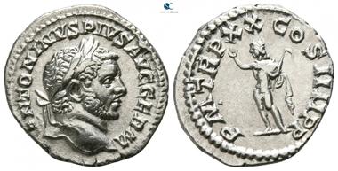 Caracalla, 198-217. Denarius, Rome. Good very fine.