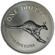 One dollar coin 1994.