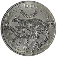 One dollar coin 2003.
