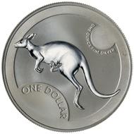 One dollar coin 2006.
