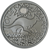 One dollar coin 2009.