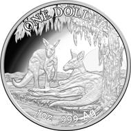 One dollar coin 2018.