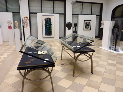 Der Ausstellungsraum in der Humboldt-Universität.