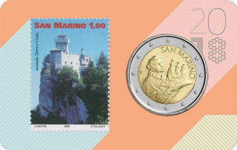 San Marino / 2 Euro / Mintage: 10,000.