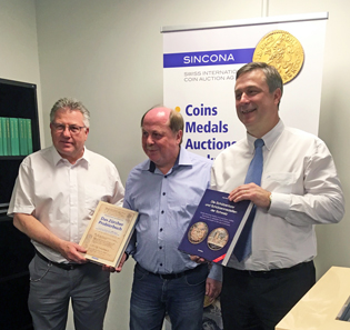The authors of the two new publications, Ruedi Kunzmann, Karl Weisenstein and Jürg Richter (from left to right).
