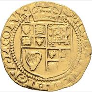 Lot 6586: Great Britain. William. Crown. 1604-19. Very fine / Very fine+. Starting bid: 175 euros.