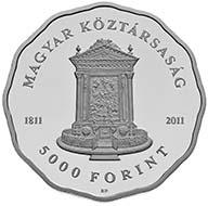 Hungary - 5000 HUF - 925 Ag - 38.61 mm - 31.46 g - Design: Emma Sz. Egyed - Mintage: 3,000 (BU) and 5,000 (Proof).