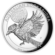 Australia / .9999 silver / 31.107g / 32.60mm / Mintage: 5,000.