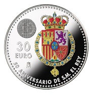 Most beautiful circulating coin: Spain.