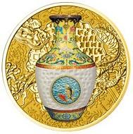 Most technologically advanced gold coin: Poland.