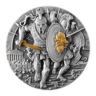 Most technologically advanced silver coin: Poland.