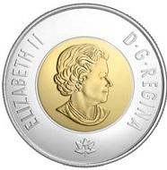 Most technologically advanced circulating coin: Canada.