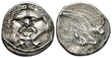 Lot 2: Etruria. Populonia. 20 asses, circa 320-280. Good Very Fine. Starting bid: 250 GBP.